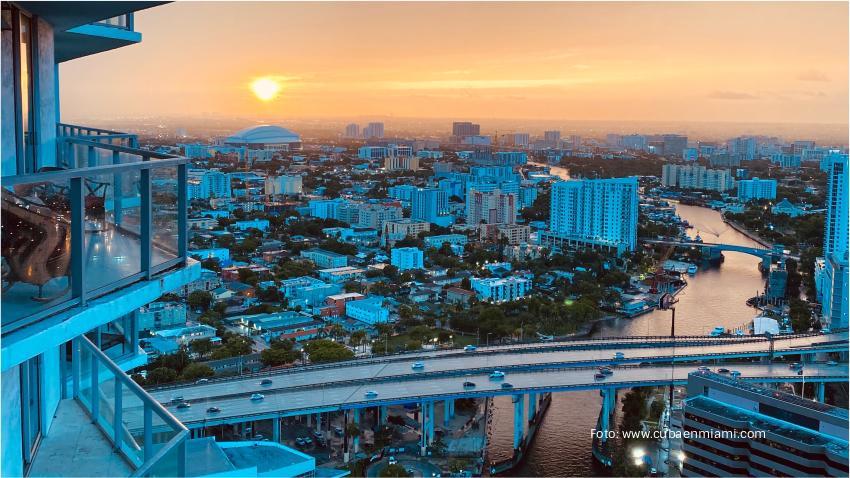Varias ciudades en el Sur de la Florida incluido Miami han visto una disminución en el precio de la renta