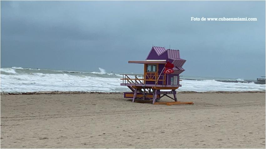 Tormenta Eta podría convertirse en huracán antes de llegar a Florida