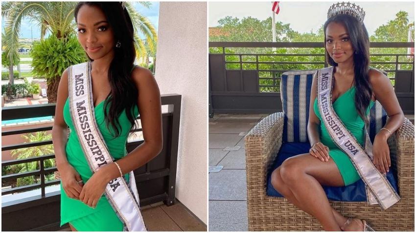 Concursante de Mississippi se lleva la corona de Miss USA 2020