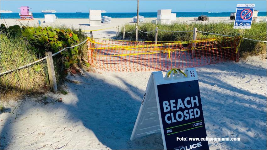 Cierran en Miami playas, marinas y parques ante la posible llegada de la Tormenta Tropical Eta