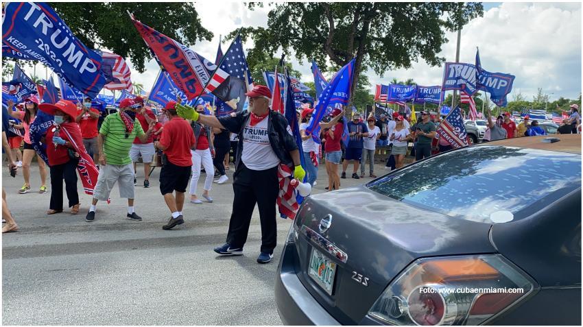 Seguidores de Trump en el Sur de la Florida se unirán a la marcha en apoyo al presidente en Washington DC