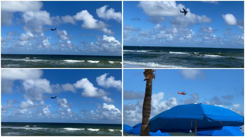 Imágenes del Show Aéreo en Fort Lauderdale Beach