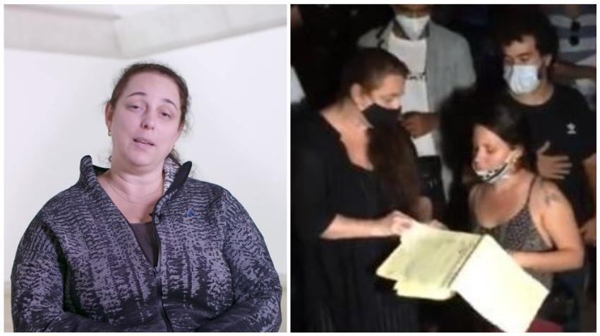 Tania Bruguera, una de las artistas que entró a negociar con los funcionarios de la dictadura dice que se han incumplido los acuerdos