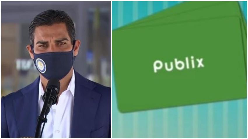 Alcalde Francis Suárez anuncia que la ciudad de Miami distribuirá tarjetas de regalos de $250 a familias necesitadas