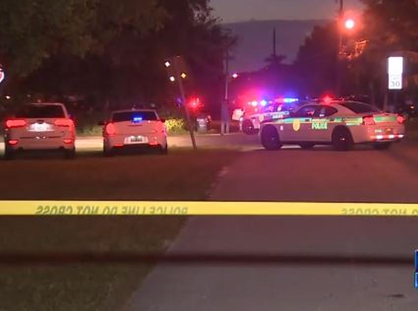 Un hombre, una mujer y dos niños hospitalizados después  de un tiroteo en Miami
