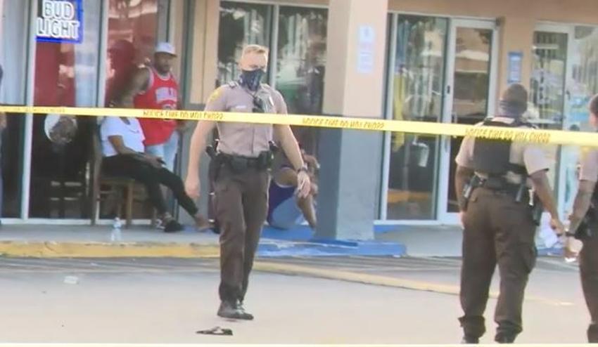 Disparan a dos personas dentro de un restaurante en Miami