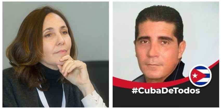 Mariela Castro la emprende contra el actor Erdwin Fernández por sus publicaciones críticas en redes sociales