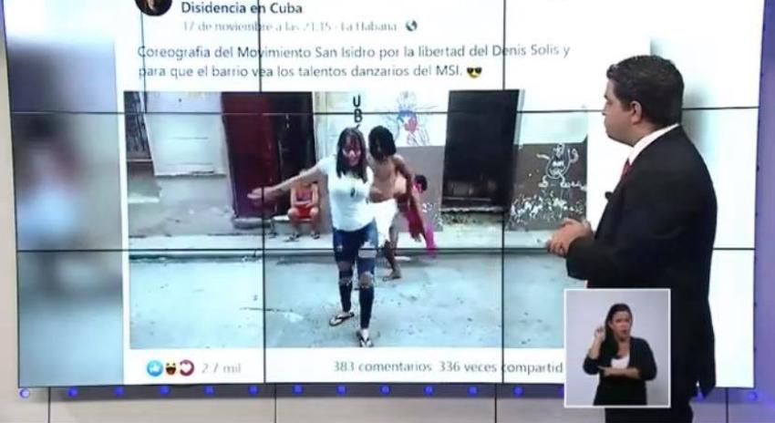 """Noticiero estatal sigue difamando a cubanos dentro de la Isla y en EEUU, a quienes acusa de """"acciones terroristas"""""""