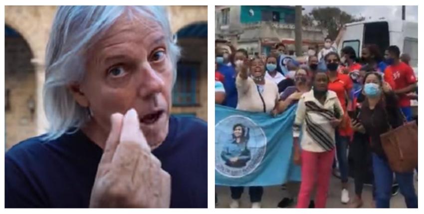 """Periodista cubano interpela a Virulo en redes sociales: """"Es muy triste que su canción sea usada como la banda sonora de los próximos actos de repudio"""""""