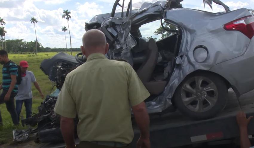 Cubano residente en Miami muere en un accidente de tránsito en Camagüey