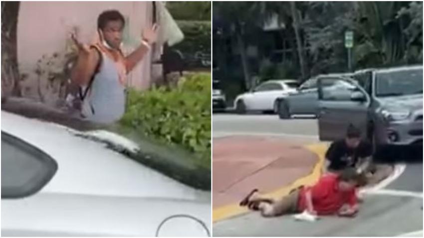 Policía busca a hombre que atacó  violentamente a un anciano de 70 años en Miami Beach