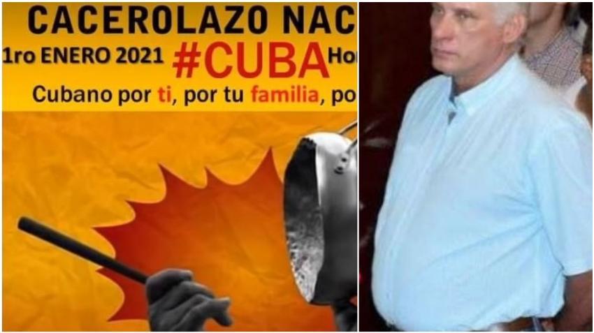 """Convocan en Cuba a """"cacerolazo"""" contra la dictadura el 1ro enero en todo el país"""