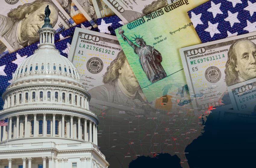 Congreso de Estados Unidos aprueba oficialmente el segundo paquete de estímulo que incluye cheque de $600 dólares para estadounidenses