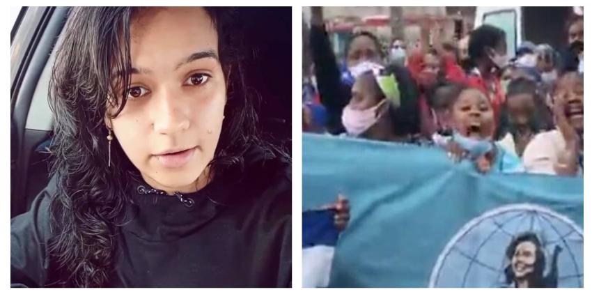 """Joven cubana exiliada explota en las redes: """"No me escriban más, digo lo que me de la gana... y no pidan dólares"""""""