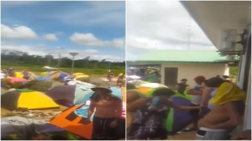 Caravana de cubanos en Suriname continúa avanzando hacia la frontera de Estados Unidos