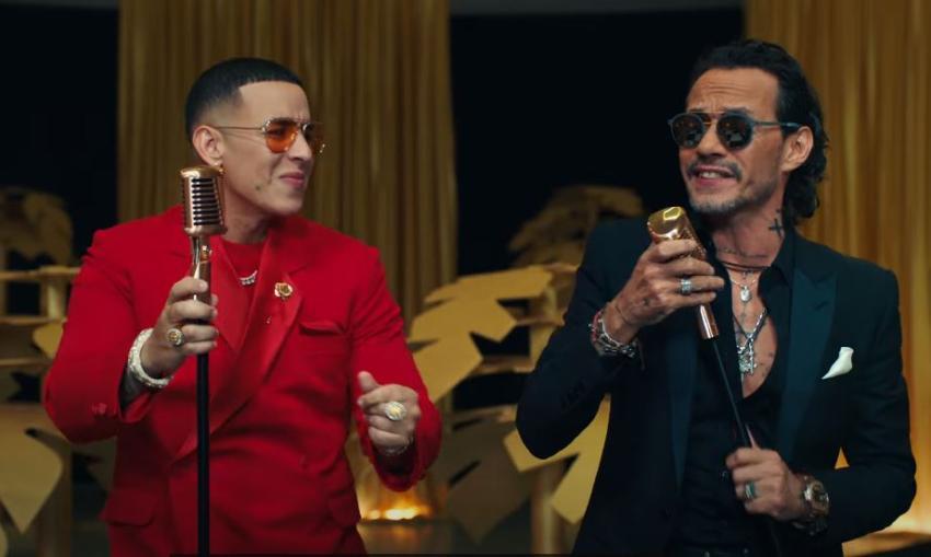 """Daddy Yankee y Marc Anthony se unen en una salsa con el tema """"De Vuelta Pa' La Vuelta"""""""