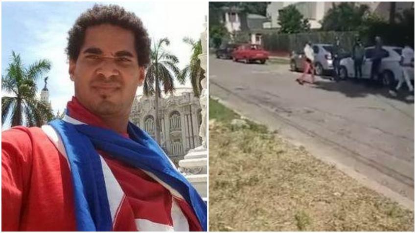 Seguridad del estado vuelve a arrestar a Luis Manuel Otero Alcántara