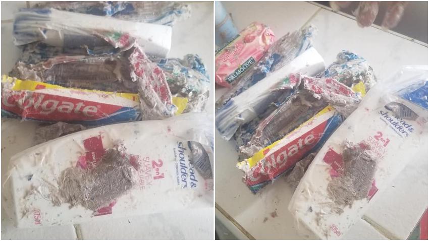 Cubana denuncia que un paquete que le enviaron desde el exterior por Correos de Cuba llegó con todo vacío