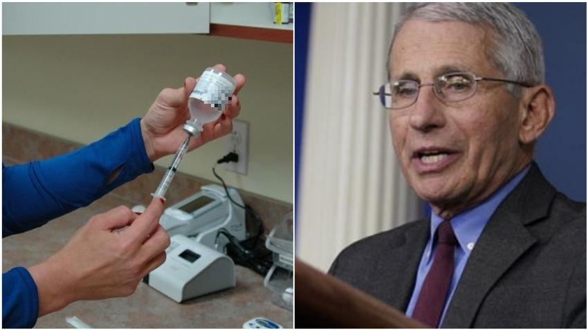 Dr. Fauci pide a las personas se preparen para vacunarse mientras los estados planean la distribución de la vacuna