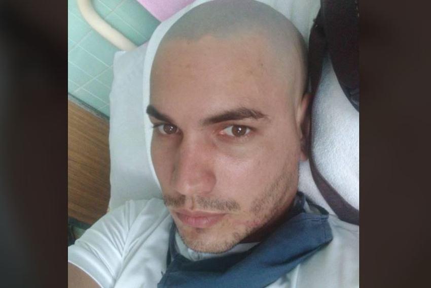 Joven cubano operado de cáncer en Cuba pide ayuda, está sin tratamiento desde la operación