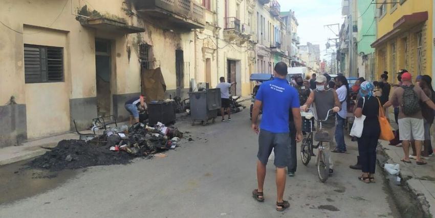 Fallecen una madre y su hijo tras incendio de una moto eléctrica en Centro Habana
