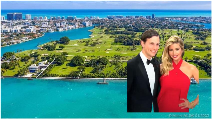 Reportan que Ivanka Trump y Jared Kushner compraron un terreno por 32 millones de dólares en exclusiva zona de Miami
