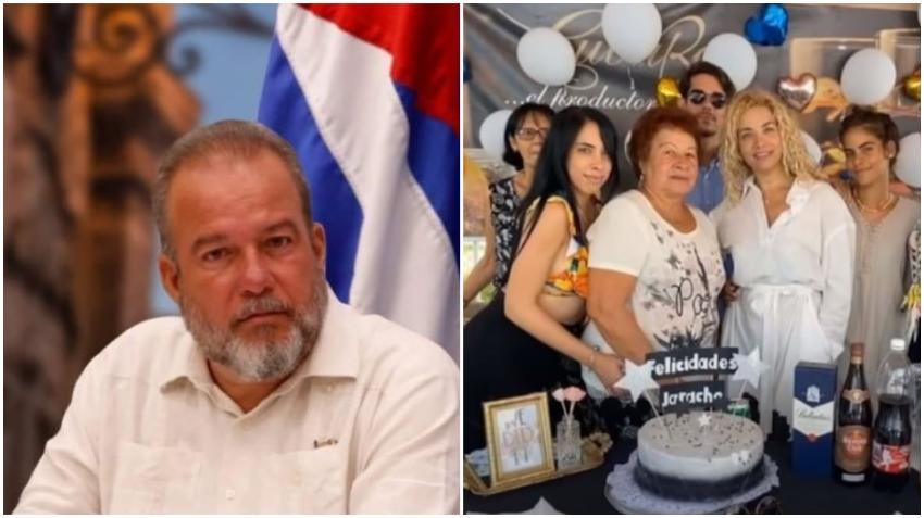 Salen a la luz imágenes de las fiestas con abundancia de la familia del Primer Ministro de Cuba Manuel Marrero