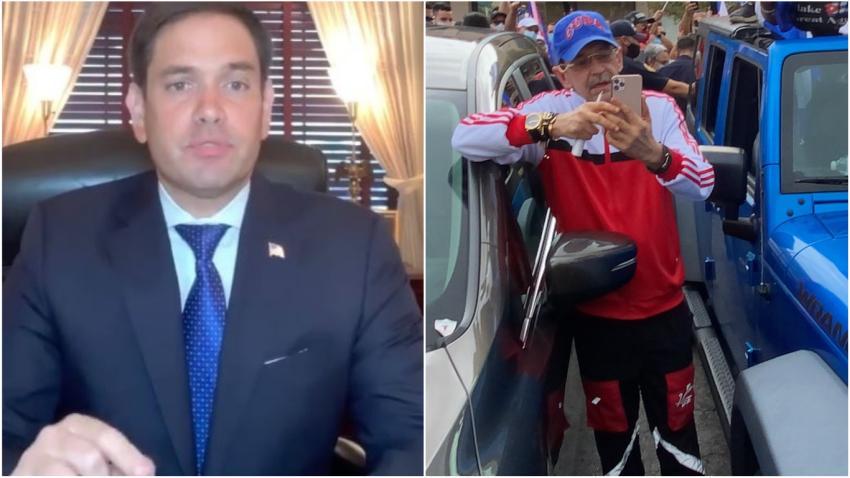 Marco Rubio se queja de que Youtube permita videos de Edmundo García amenazando a líder del exilio cubano