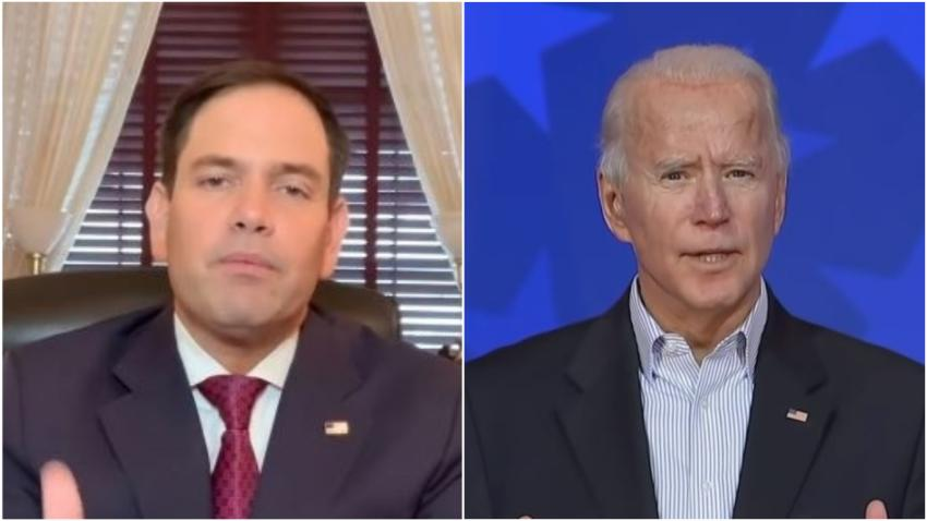 Senador cubanoamericano Marco Rubio teme que Joe Biden dará un respiro a la dictadura en Cuba