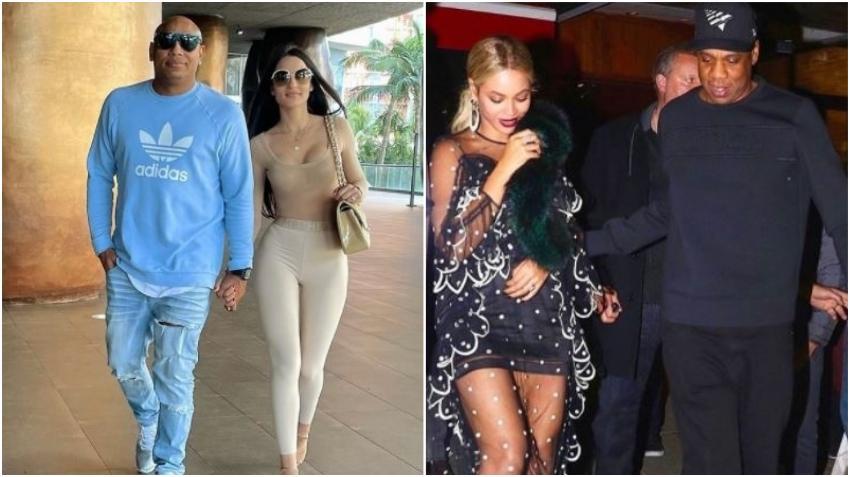 Modelo cubana Mily Alemán compara Alexander con Jay-Z y a ella con Beyoncé