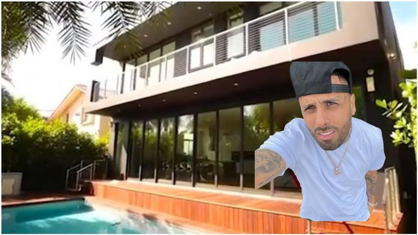 Nicky Jam vende su mansión en Miami Beach por 3.1 millones perdiendo cerca de 300 mil dólares