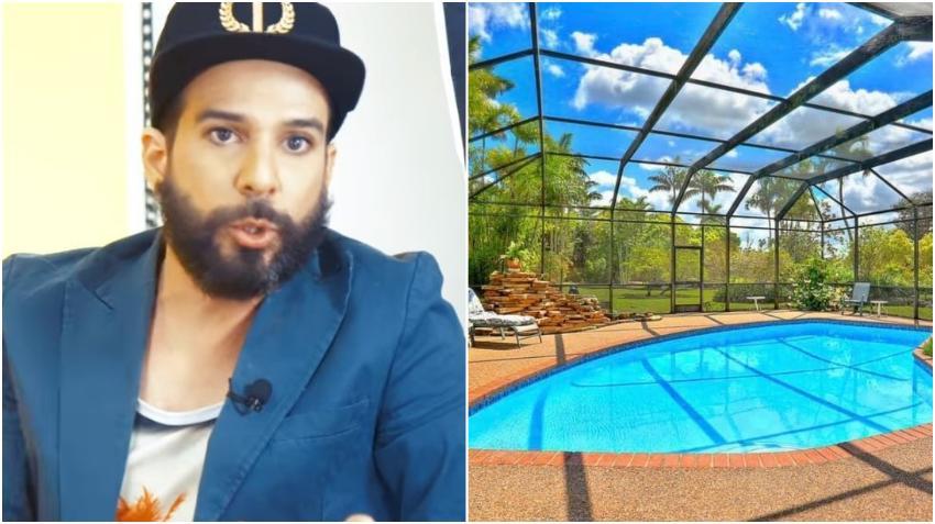 Presentador cubano Alex Otaola muestra más imágenes de su nuevo rancho