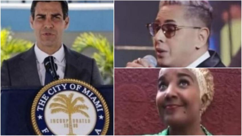 Alcalde de Miami Francis Suárez reafirma la declaración de persona non grata para Paulo FG y Haila María Mompie