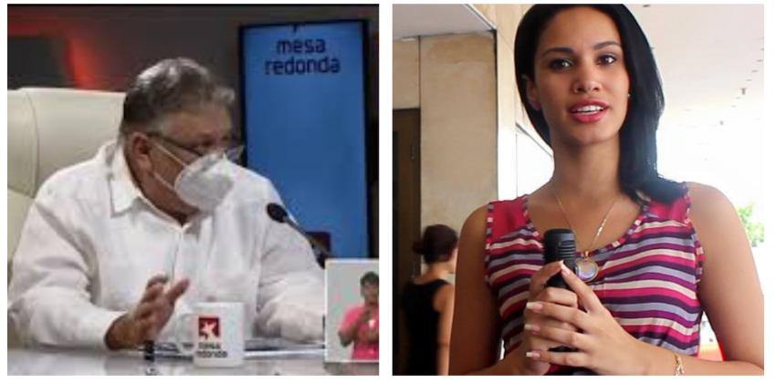 """Periodista cubana estalla y llama """"cínico y desvergonzado"""" a Marino Murillo"""