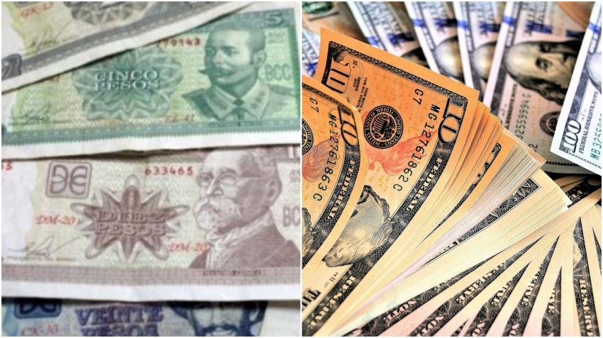 El precio del dólar en Cuba en el mercado negro duplica el precio oficial