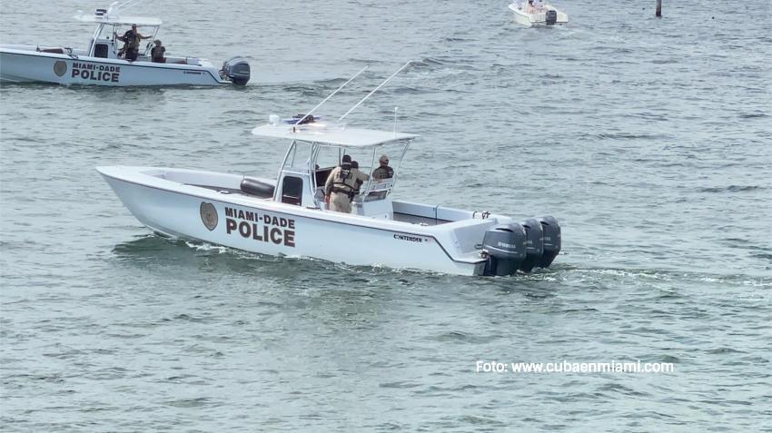 Encuentran una pierna humana flotando en una marina de Miami-Dade