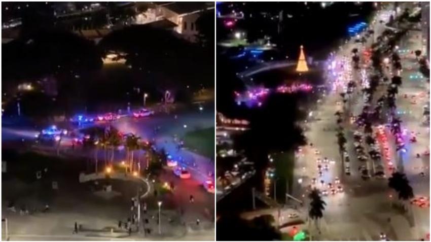 Caos cerca de Bayside en el Downtown de Miami; reportan disparos