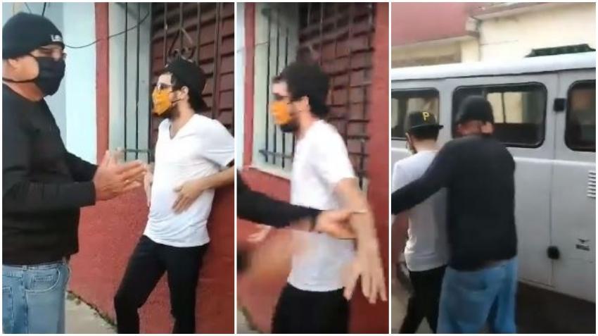Seguridad del estado detiene al escritor y periodista Carlos Manuel Álvarez por querer salir de su casa