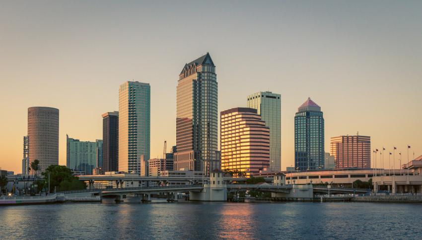 Las ciudades de Tampa y St. Petersburg en Florida fueron los destinos más ocupados del 2020