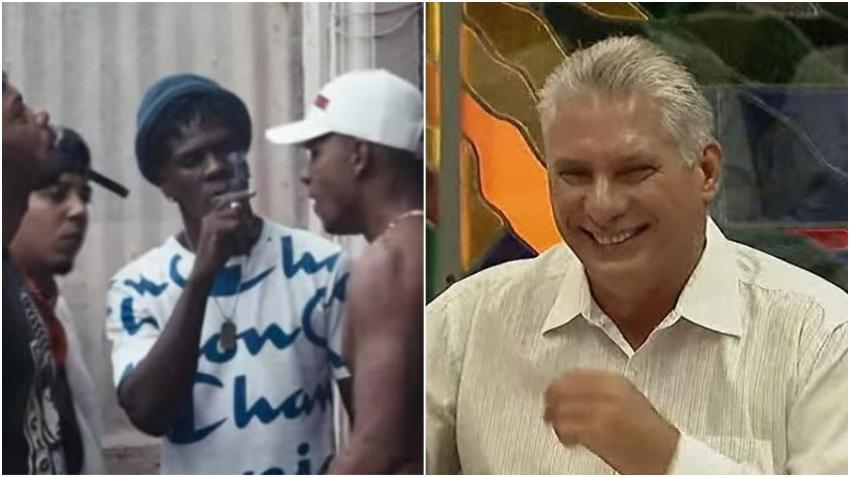 El hartazgo del pueblo en un rap: Diazcarao, tema musical de Maykel Osorbo y El Funky