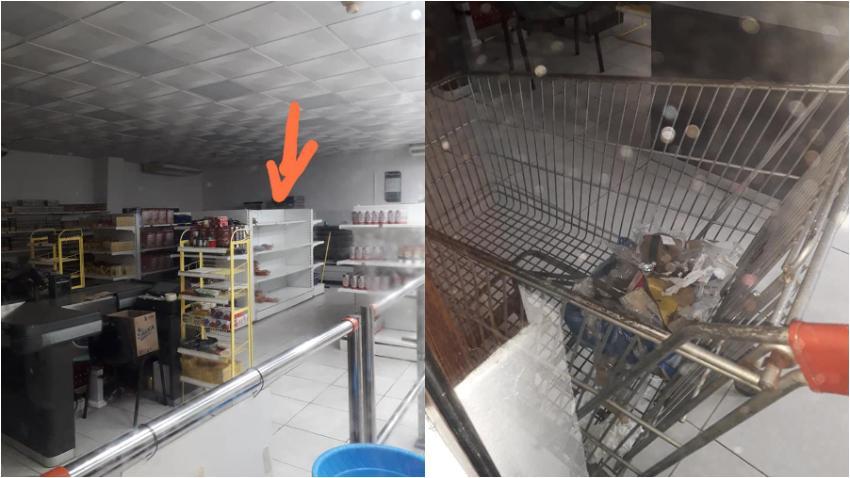 Cubano denuncia la suciedad y la falta de productos en una de las tiendas en dólares del gobierno