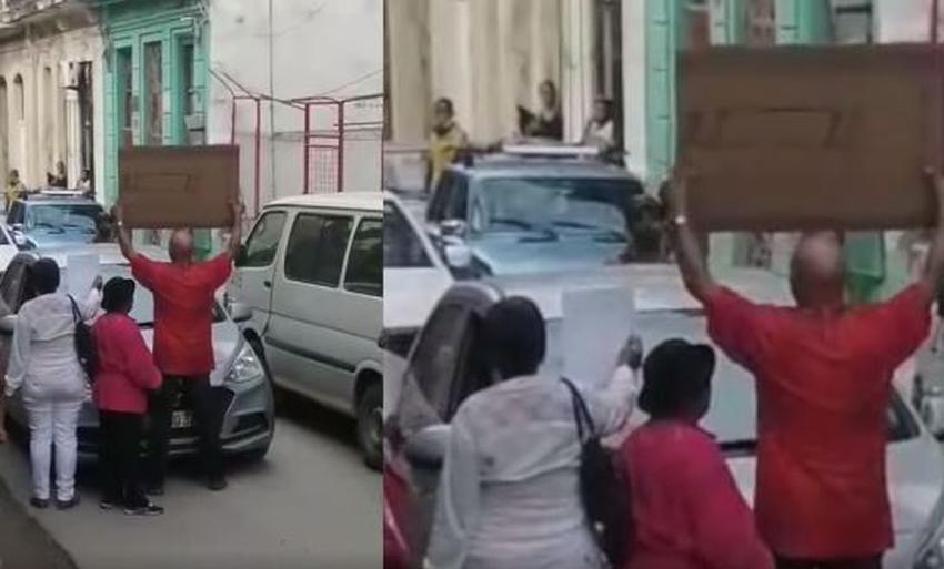 Vecinos en barrio de La Habana impiden acto de repudio contra opositor cubano
