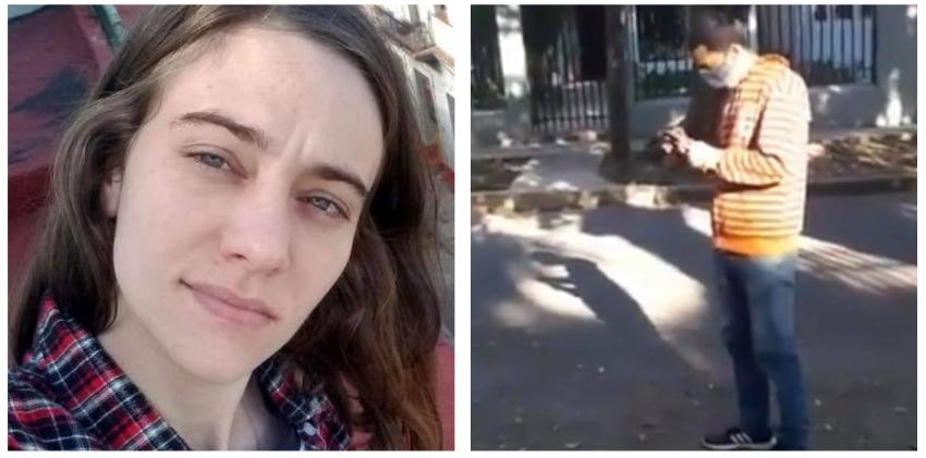 """Artista cubana enfrenta a represor: """"Usted no puede jalarle el teléfono así, aquí hay una mujer y usted la está agrediendo"""""""