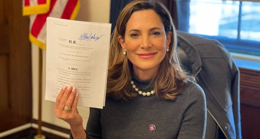 El régimen incómodo con el proyecto de Ley FUERZA de María Elvira Salazar