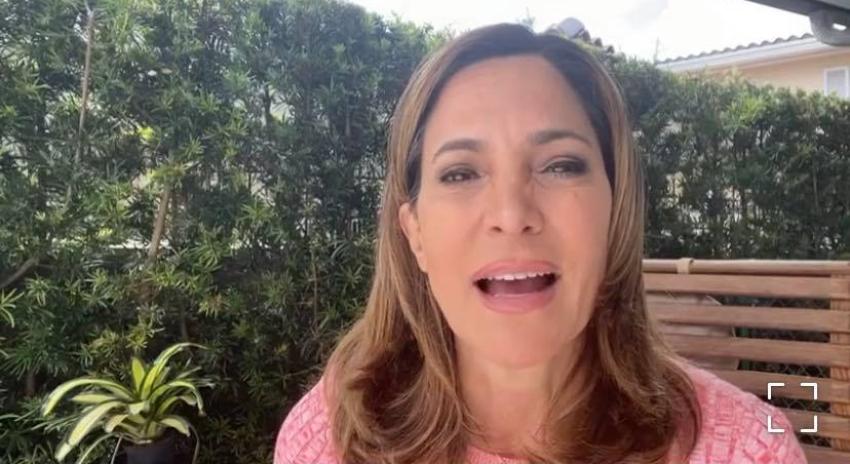 """Congresista cubanoamericana Maria Elvira Salazar se recupera del COVID: """"La pase muy mal"""""""