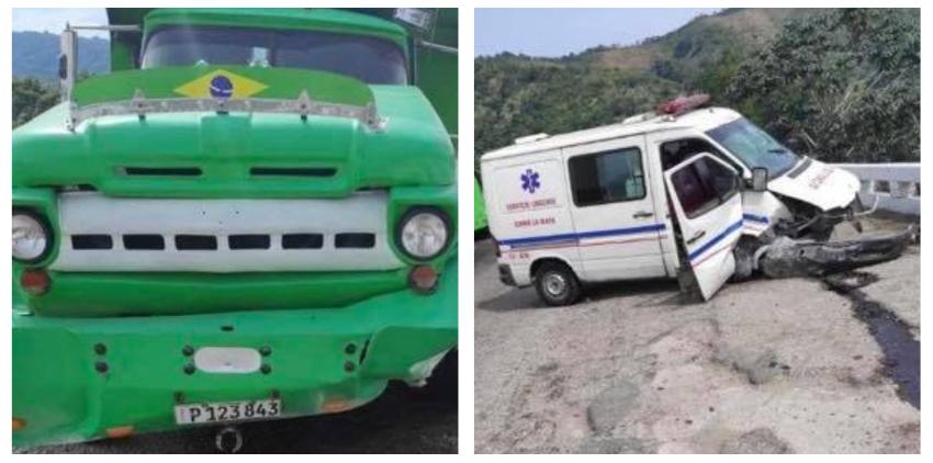 Heridos en un accidente en la autopista de Santiago de Cuba