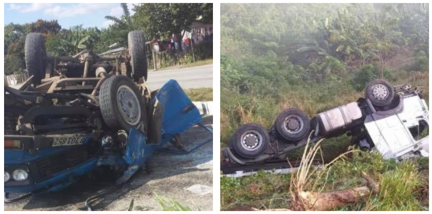 Ola de accidentes en Cuba reportados durante el fin de semana