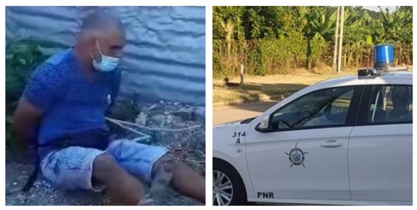 Cubanos repudian a sujeto que golpeó a una mujer para intentar robarle su moto