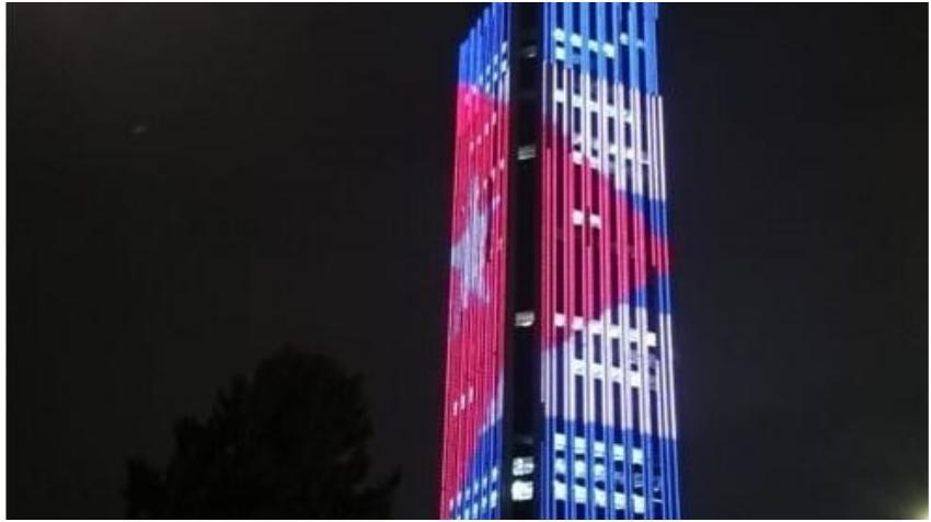 Rascacielo de Colombia se iluminará con los colores de la bandera cubana por aniversario del nacimiento de José Martí