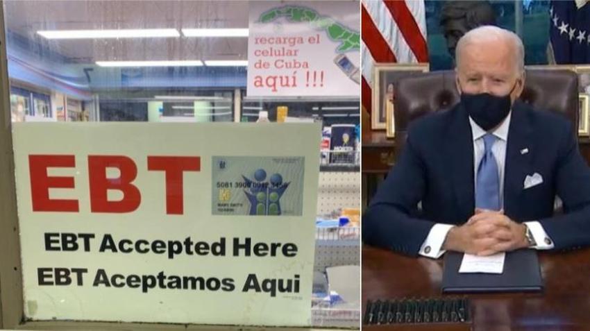 Biden firma orden ejecutiva para mejorar la entrega de Food Stamps en un 15%